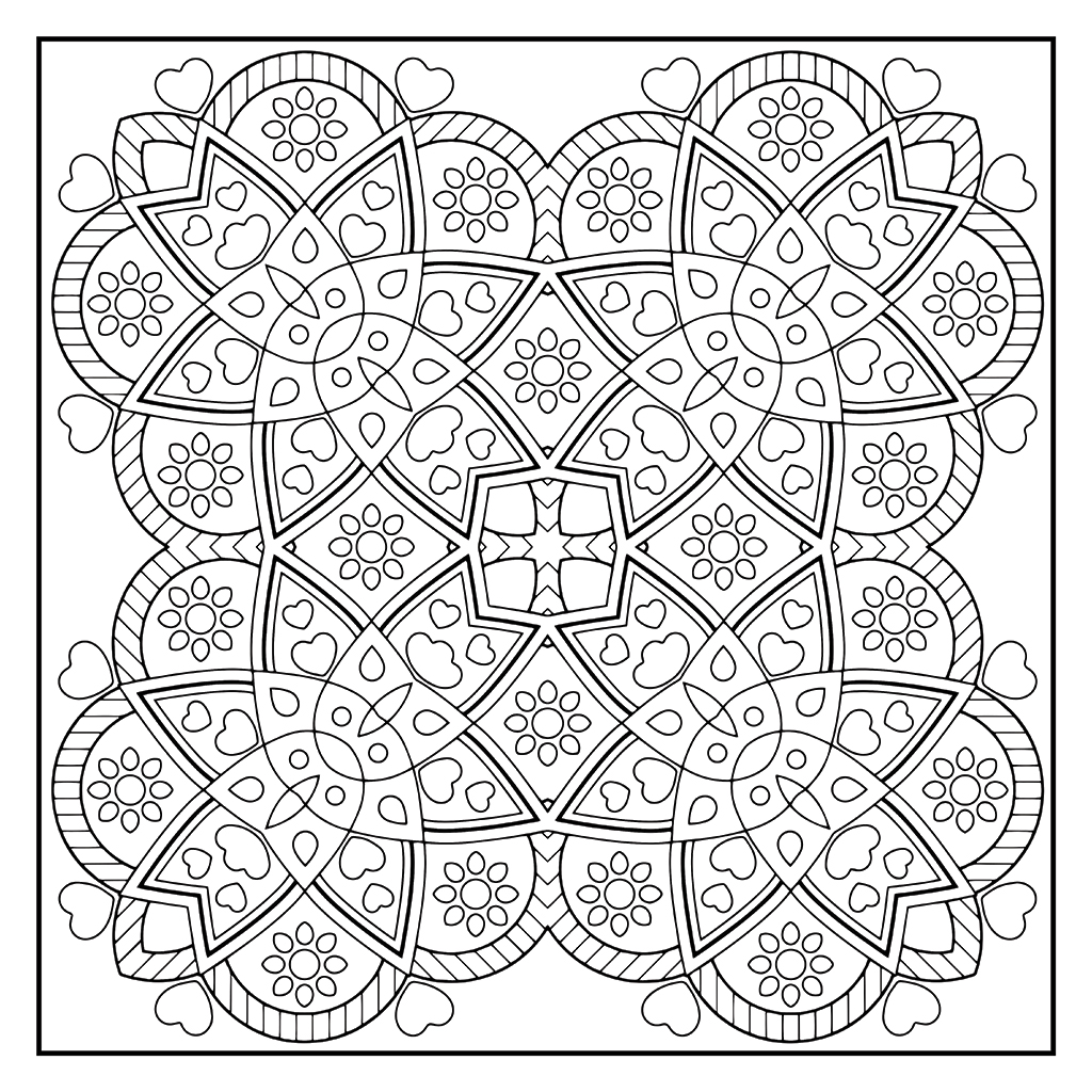 Coloring To Unwind - Pattern 14
