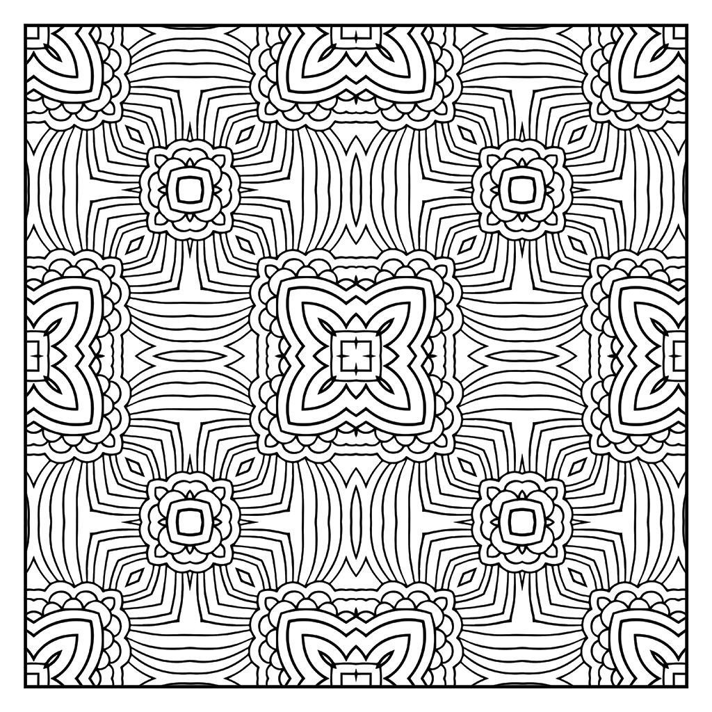 Coloring To Unwind - Pattern 23